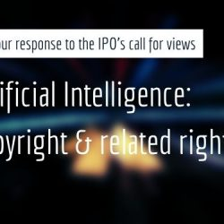 BCC response: Artificial Intelligence: Copyright & related rights